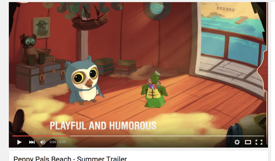 Trailer Peppy Pals Summer