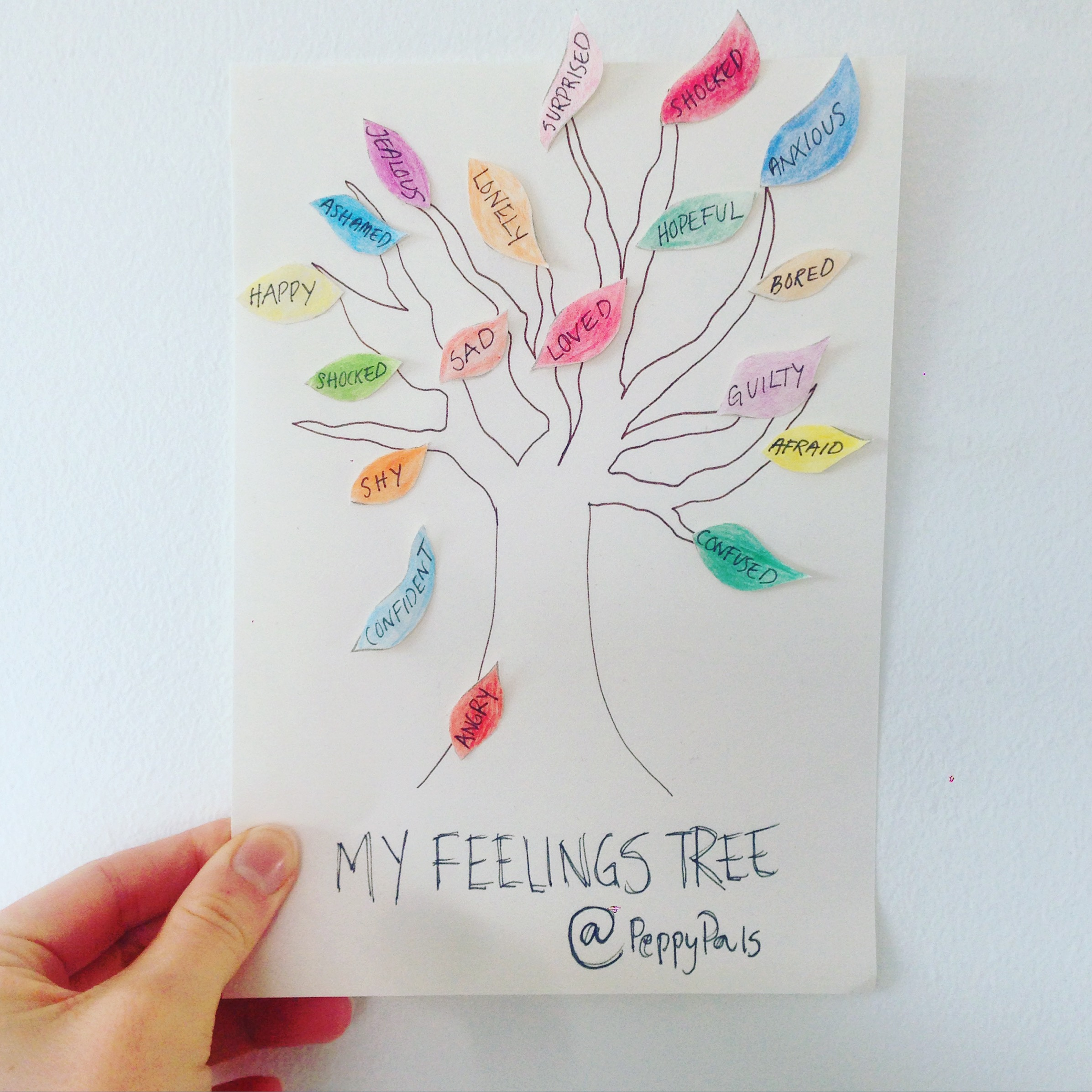 My feelings tree_Peppy Pals