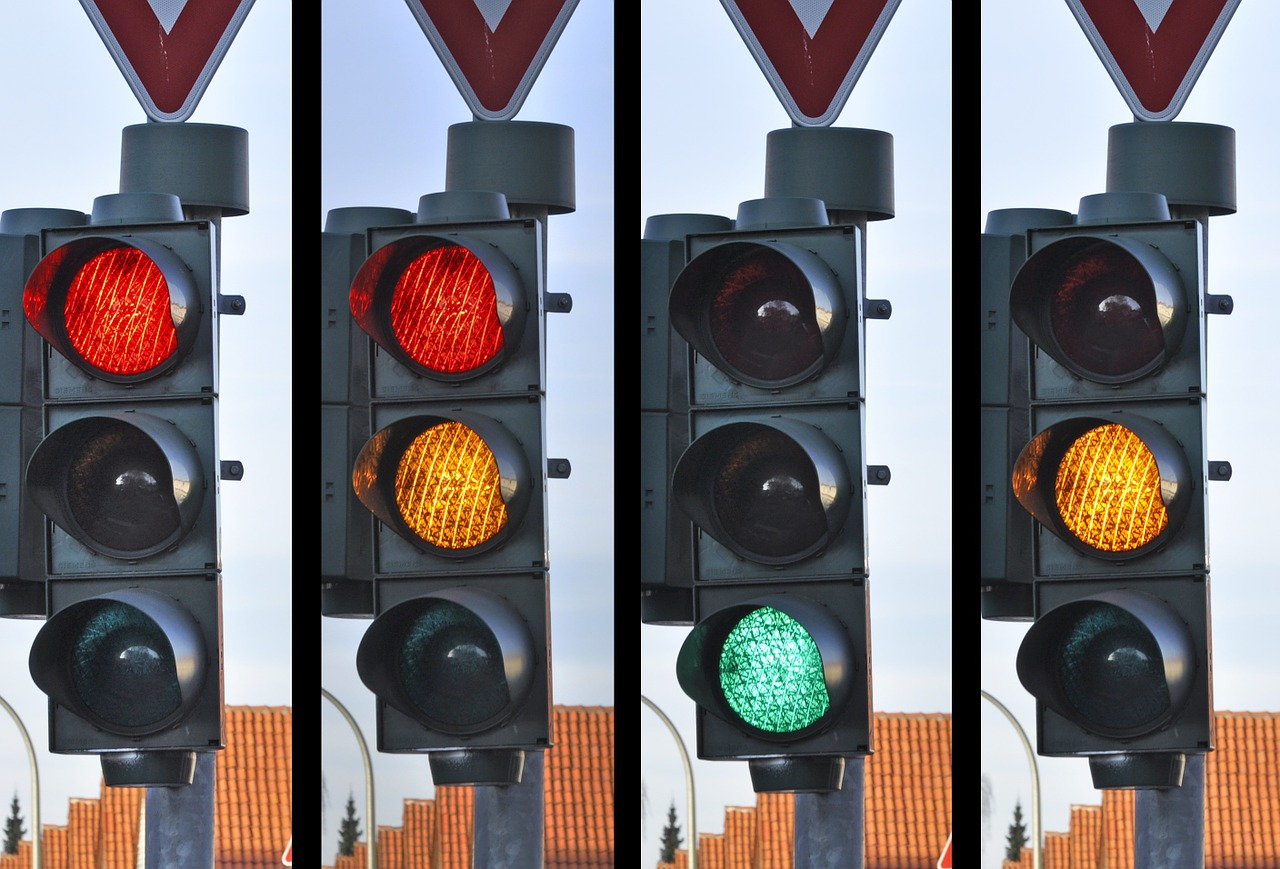 Conflict, empathy, traffic light